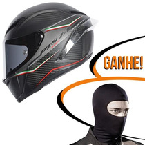Capacete Agv Pista Gp Gran Premio Italia Carbono 57/58 Rs1