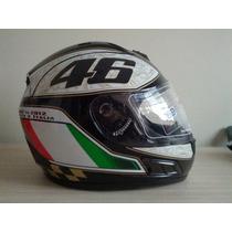 Capacete Valentino Rossi 46 Unita O Italia Helmet Df2 Médio