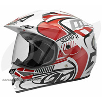 Capacete Pro Tork Squad Vision Cross Motocross Trilha+brinde