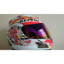 Capacete Repsol Abelha 93 Df2 Helmet Modelo Novo