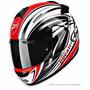 Capacete Arai Chaser Ducati Stripes - Tamanho 62 Moto