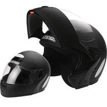 Capacete Escamoteavel Robocop Articulado Moto Mixs Gladiator