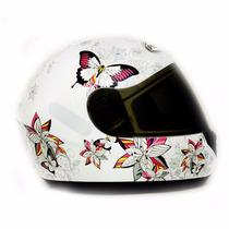 Capacete Peels Spike Butterfly Borboleta Feminino - Fechado