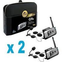 Intercomunicador Scala Rider G9x Powerset (kit Com 2)