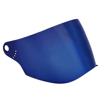 Viseira Bieffe 3 Sport Azul Metalizada