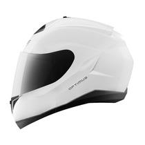 Capacete Mt Helmets Optimus Escamoteável Branco - 58