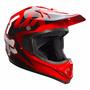 Capacete Moto Cross Fox Vf1 Race Vermelho Tam 56