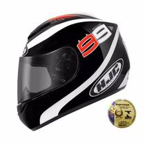 Capacete Para Corrida Moto Hjc Jorge Lorenzo Cl-st Spartan