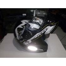 Capacete Texx Mercurio Articulado Robocop Chaparral Motos