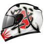Capacete Mt Helmets Blade Battle Branco Preto - 58