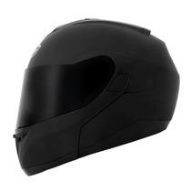 Capacete Mt Helmets Optimus Escamoteável Preto Fosco - 56