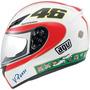 Capacete Agv K3 Icon Valentino Rossi Bco 63/64 Rs1