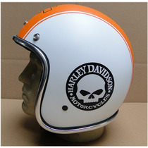 Capacete Bobber - Harley Davidson Retrô - Homologado