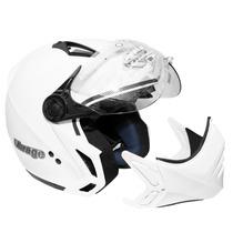 Capacete Peels Mirage C/óculos Fumê Branco Tamanho 58
