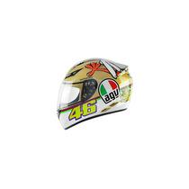 Capacete Agv K-3 Rossi The Chicken Branco Dourado - 64
