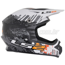 Capacete Ls2 Mx 451 Gloss Off Road Cross Ñ Arai Shoei Fox