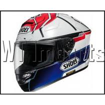 Capacete Shoei X-12 Marc Marquez Motegi Rossi Lorenzo Motog