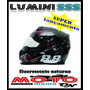 Capacete Evolution Luminosense Ss301 Fluorescente A Noite