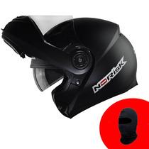 Capacete No Risk Ff370 Monocolor Fosco (preto)