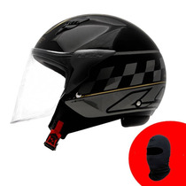 Capacete Ls2 Of559 Cafe Racer Grátis Balaclava