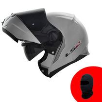 Capacete Ls2 Ff386 Robocop Articulado Escamoteável