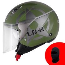 Capacete Ls2 Of559 Combat ( Verde Fosco )