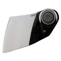 Viseira Capacete Shark S500 Iridium Cromada + Kit De Fixação