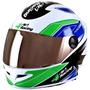 Capacete Pro Tork 4 Racing Com Viseira Extra Cromada + Copo