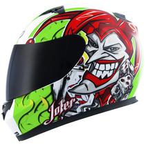 Capacete Mt Blade New Joker Verde/branco - Onmoto!