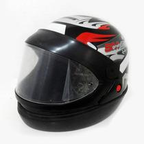 Capacete Moto Taurus San Marino Graffic Fechado Tam 60 Preto