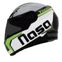 Capacete Nasa Sh-712 Tech Verde Mod Novo Não E Ls2/norisk