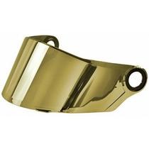 Viseira Capacete Ls2 Ff358 Dourada Original