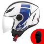 Capacete Agv Blade Fx ( Branco/ Azul )