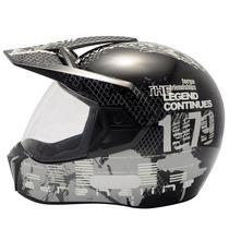 Capacete Bieffe 3 Sport Dakar Adrenaline Preto/grafite