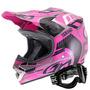 Capacete Moto Pro Tork Squad Feminino Óculos 788 Motocross
