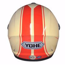 Capacete Yohe Moto Importado C Inmetro Lançamento
