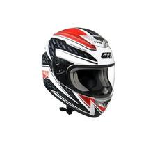 Capacete Givi H50.3f Vermelho/branco 55/56 Rs1
