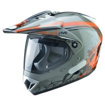 Capacete Moto Cross Trilha Freestyle Rvc 370 Com Viseira