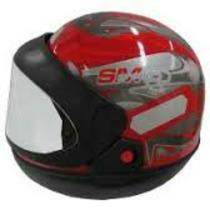 Capacete San Marino Tauros Vermelho 56-58-60