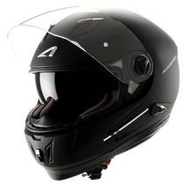 Capacete Astone Roadstar Com Led Black Matt (preto Fosco)