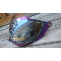 Viseira Capacete Espelhada Camaleão Cross Df2 Modelo 202