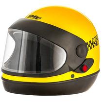 Capacete Moto Sm Automatico Marino Pro Tork Motoboy Taxi
