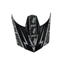 Pala Aba Visor Capacete Shift Agent Preto - Trilha Motocross