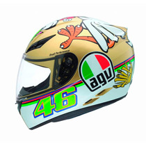 Capacete Agv K 3 The Chicken 62 ( 3332 )