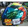 Capacete Valentino Rossi 46 Elements K-3 Em 12x Sem Juros