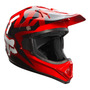 Capacete Moto Cross Fox Vf1 Race Vermelho Tam 58