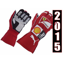 Luvas F1 Para Kart Ferrari 2015