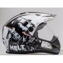 Capacete Motocross Helt Cross Vision Imaginarium Número 60