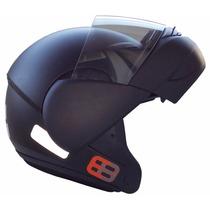 Capacete Ebf E8 Articulado Escamoteável Fosco Frete Grátis