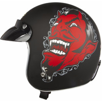 Capacete Lucky 13 Lucky-thirteen Moto Club Harley U.s.a